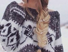 Over-sized Mystery Sweaters: All Hipster Colors - All Grunge Patterns. Get your own Hipster / Grunge/ Tribal/ Pattern Or Solid, Pullover Or Cardigan Mystery Vintage Sweater Today! We have the Best St Foto Fashion, Tumblr Fashion, Fashion Beauty, Punk Fashion, Lolita Fashion, Teen Fashion, Teenager Fashion, Blonde Fashion, Fashion Hair