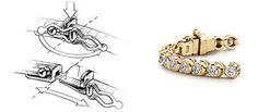 Hidden Jewelry Clasps - (c) Blue Nile
