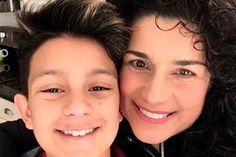 ¡Amor de madre! Así defendió Karina a su hijo transgénero (+foto)