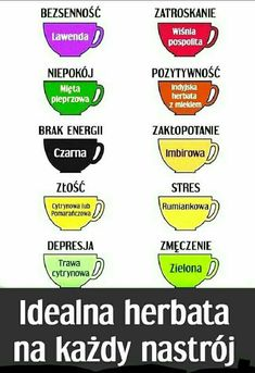 Hebrata na różne nastroje Healthy Drinks, Healthy Tips, Health Diet, Health Fitness, Gewichtsverlust Motivation, Better Life, Beauty Care, Good To Know, Planer