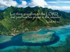 Isaiah 42:12.
