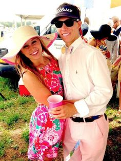 having a frat guy on your arm...TSM. This will be my life some day! I loveee her lily dress too:)