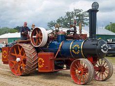 Sawyer Massey, I love these old steam engines
