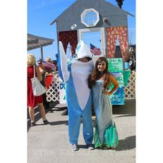 #shark and #mermaid at Poseidon's #Parade in #Rockaway #Beach New York #themermaidstudio #poseidonsparade #nyc #ny #newyorkcity #newyorknewyorkacitysonicetheynamedittwice  #siren #sirens #ocean #beach #mermaids #seashore #aquatic #nautical #marine  #takemetothesea #vitaminsea #beachlife #rockaway #rockawayny #poseidonparade #mermaids