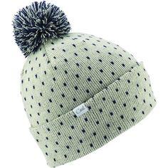 Coal Dottie Pom Beanie (€16) ❤ liked on Polyvore featuring accessories, hats, pom pom beanie hat, beanie hat, coal beanie, pom pom beanie and pompom hat