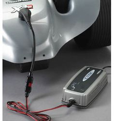 stewart Golf External Charger Point If you leave your equipment at the golf club or would prefer to leave the battery in the X3 when charging, then this is the perfect accessory for you. The external charge (Barcode EAN = 0050000024230) http://www.comparestoreprices.co.uk/golf-equipment/stewart-golf-external-charger-point.asp