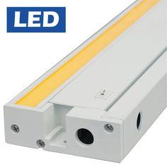 "Tech Lighting 700UCFDW1993-LED Unilume LED 19"" 10.5 Watt Direct Wire Under Cabin White Indoor Lighting Under Cabinet Light Bars"