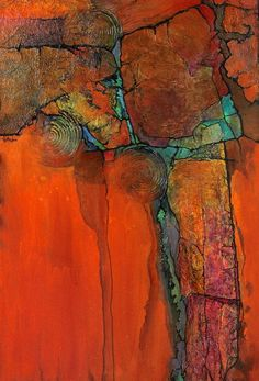 """ANASAZI"" by Carol Nelson mixed media ~ 36 x Abstract Mixed Media Painting ""Anasazi"" by Colorado Artist Carol Nelson Southwest Art, Painting People, Encaustic Art, Watercolor Artists, Mixed Media Painting, Abstract Photography, Art Techniques, Painting Inspiration, Modern Art"