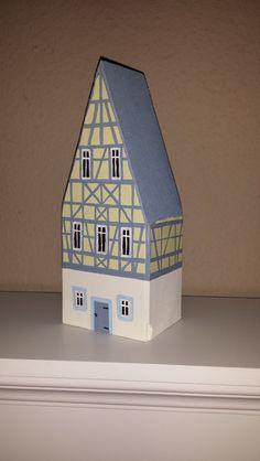 Deko-Objekte - Holzhaus Fachwerkhaus Shabby Chic Deko Vintage  - ein Designerstück von EmmasLaedchen bei DaWanda
