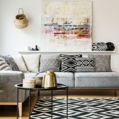 Living Room Feng Shui elements can add a contact of style and design to any dwelling. Living Room Feng Shui can imply many things to many individuals… Room Corner Decoration, Living Room Corner Decor, Living Room Ideas 2019, Bohemian Living Rooms, Elegant Living Room, Living Room Pictures, Living Room Interior, Living Room Designs, Cozy Living