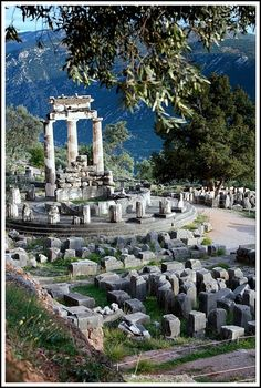 Sanctuary of Athena - Delphi,  Grecia