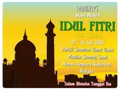 Selamat Hari RayaIdul Fitri