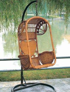 Cane Hanging Chair New Zealand Wh Gunlocke 162 Best Images Swing Hammocks Natural Indonesia Rattan Canework Basket Single Heart Bamboo 6062 334 50