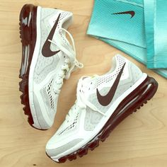 Nike Air Max Shoes NWOT White/Black Nike Air Max Shoes. Fluorescent Details on Tongue. New Condition. Never Worn. Size 7.5. Price Firm.                                  No Trades or Paypal Nike Shoes Athletic Shoes