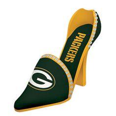 Green Bay Packers Team Shoe Wine Bottle Holder
