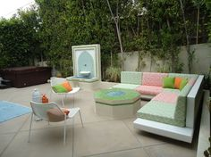 Colorful Courtyards and Patio Garden Maroccan Style Design and ...