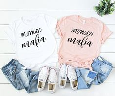 made of honor shirt - bridal party shirts - bride shirt - bridal shirts - bridesmaid shirts - bridal party gift - bachelorette party shirts by on Etsy Wedding Day Shirts, Bridal Party Shirts, Bride Shirts, Wedding Gifts, Party Wedding, Wedding Ideas, Wedding Notes, Wedding Hacks, Wedding Pictures