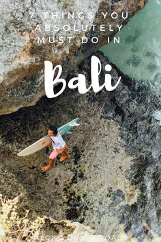 Bali is a huge tourist destination - and for good reason! From hidden beaches, ancient culture and spectacular sunsets. Here are 7 things you can't miss!