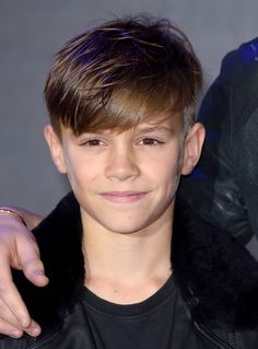 6 Men's Haircuts That Will Sort Out Your Spring Side Fringe (model Romeo Beckham)Esquire Uk Shaggy Haircuts For Boys, Tween Boy Haircuts, Boys Haircut Styles, Little Boy Hairstyles, Haircuts For Men, Men's Haircuts, Boys Long Hairstyles Kids, Trendy Haircuts, Funky Hairstyles