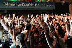 ¡La #ComunidadMovistar vibrando en el #MovistarFreeMusic!