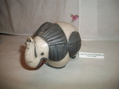 vintage ceramic elephant by ALEXLITTLETHINGS on Etsy, $39.99