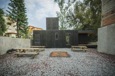 Gallery of The Black Cabin / Revolution Architects - 22