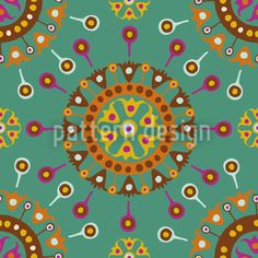 Wayuu Ocean Repeat, designed by Nicolle Pérez Vektor Muster, Ethno Design, Surface Pattern Design, Vector Pattern, Holiday Decor, Patterns, Painting, Repeat, Image