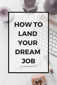 Land your dream job! Career Quotes, Career Advice, Career Goals, Resume Help, Resume Tips, Development Quotes, Career Development, Dream Job, Dream Life