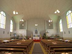 Église de Saint-Cyprien. Vue intérieure / © Conseil du patrimoine religieux du Québec 2003