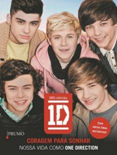 """Veja onde comprar """"Coragem Para Sonhar - Nossa Vida como One Direction"""" a biografia da banda One Direction"""