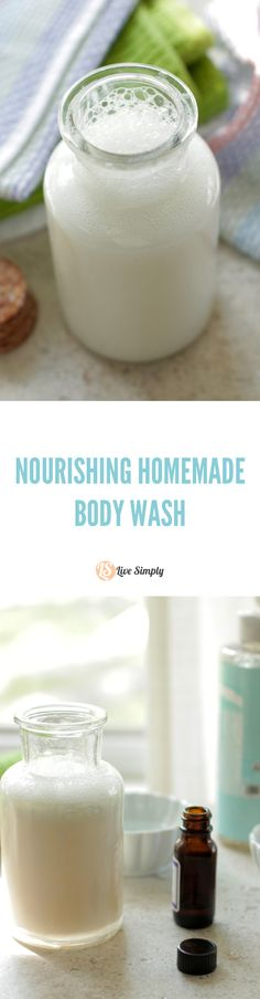 Best Beauty Diy Ideas : Illustration Description DIY natural body wash that moisturizes and cleans! This body wash leaves my skin silky soft and smelling amazing. I haven't purchased body wash in years thanks to this recipe. Natural Body Wash, Natural Skin Care, Natural Beauty, Homemade Body Wash, Homemade Facials, Homemade Beauty Products, Natural Products, Beauty Recipe, Home Made Soap