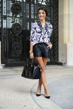 shirt, bag, shoes, skirt