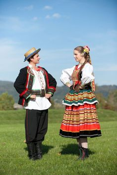 Photo via Zpit Ziemia. Art Populaire, Folk Dance, Folk Costume, Dance Costumes, Poland, Marie, My Love, Folklore, Inspiration