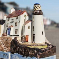 Lighthouse by Hazle | Miniature Houses | Hazle Ceramics | Beside the Sea
