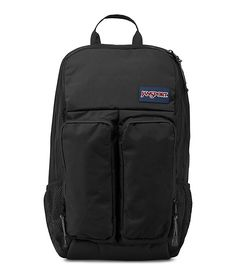 The new JanSport Portal Backpack in Black from the Digital Collection. Keep all your accessories protected with the all new Portal.
