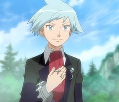 Daigo in the Pokemon X and Y anime :D Pokemon Gif, Pokemon Photo, Pokemon People, Pokemon Images, Pokemon Comics, Cute Pokemon, Pokemon Stuff, Pokemon Steven Stone, Pokemon Regions