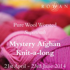 Ravelry: Pure Wool Worsted Mystery Afghan KAL pattern by Martin Storey
