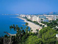Vista de Benicasim. Castellón