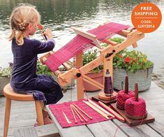 Halcyon Yarn Little Looms Kits