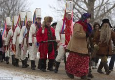 russia New Year (Julian calendar);  | ... Christmas Tsars' ritual to welcome New Year in Belarus | Mail Online