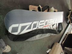 OZOECEU スノーボード ナイロンバック バインディング付 158cm_画像2