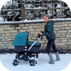Bugaboo Cameleon 3 with Petrol Tailored Fabric.