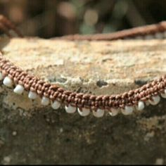 Our Boho Anklets come in brown too. Check them out! ❤