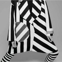 #jacquemus #intermissionmagazine #blackandwhite #stripes