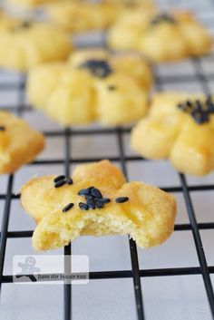 melt-in-your-mouth salted egg yolk cookies