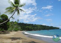 Drake Bay in Costa Rica. Spectacular biological diversity at the beautiful Osa Peninsula!