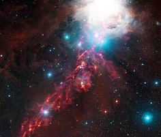ESO: Un nastro di fuoco celato in Orione – Orion's Hidden Fiery Ribbon