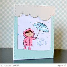 mama elephant   design blog: INTRODUCING: Chance of Rain