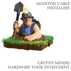 Crypto mining is up. To hardwire your important hardware use Houston Cable Installers at 832-338-2926 #cryptominer #cryptopia #cryptogram #cryptomania #cryptominingfarm #cryptosignal #cryptocurreny #cryptoindonesia #bitcoinukrane #bitcoinmexico #bitcoinbillionare #bitcoinbelgium #bitcoinman #bitcoinespaña #bitcoincommunity #bitcoinitaly #bitcoinworldwide #bitcoinearners #bitcoinminingworldwide #bitcoinpage #bitcoinallday #ethereumcoin #ethereuminvestment #ethereumblockchain #ethereumproject Crypto Mining, Bitcoin Mining, Houston, Investing, Cable, Hardware, Cabo, Computer Hardware, Electrical Cable