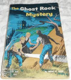 The Ghost Rock Mystery by Mary C. Jane by Starrylitvintage on Etsy & Old Favorites: The Forgotten Door | Book clubs Doors and Books